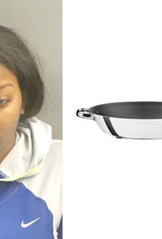 Sierra Coleman just had to have that pan.