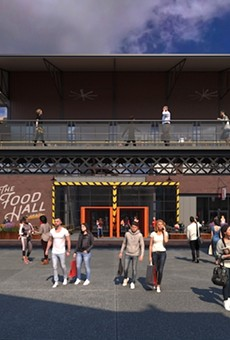 City Foundry's Food Hall will feature numerous vendors.