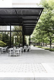 The space at 808 Chestnut Street overlooks CityGarden in the heart of downtown St. Louis.