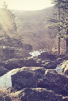 The beauty of the Ozarks is clear to visitors.