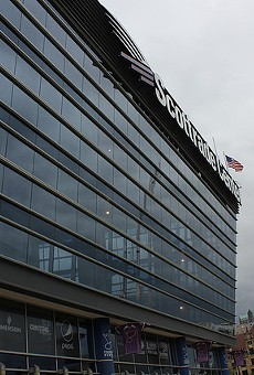 Scottrade Center is the home of the St. Louis Blues.