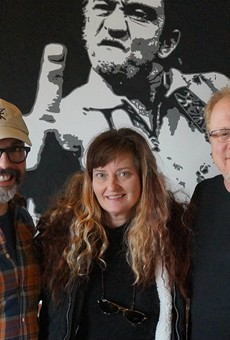 Frank Uible, Liz Schuester and Chip Schloss are bringing Firecracker Pizza & Beer to the Grove this spring.