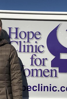 Dr. Erin King is the executive director of Hope Clinic for Women in Granite City, Illinois.