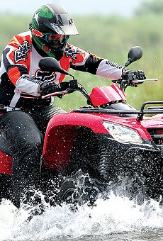 Gangs of ATVs, like the one pictured above, will no longer terrorize city residents, Police Chief John Hayden vowed.
