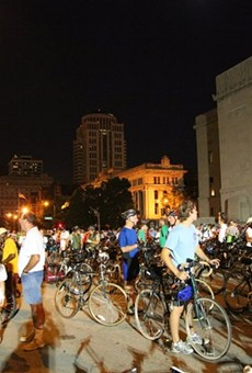The Moonlight Ramble has been held in St. Louis for 54 yearss.
