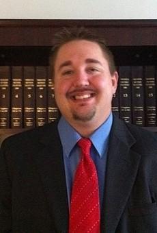 Former St. Francois County Prosecutor Jerrod Mahurin.