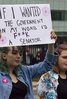 Pro-choice protesters will surely welcome today's ruling.