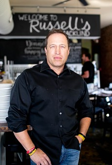 Russell's on Macklind general manager Faron Huster got into the business on a whim and never looked back.