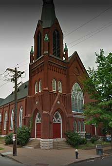 The historic church that housed the Fellowship.