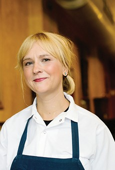 Brasserie pastry chef Elise Mensing relishes the tactile nature of the kitchen.