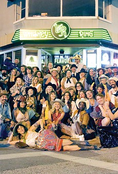 August's edition of Western Wear Night brought more than 350 people to the Whiskey Ring.