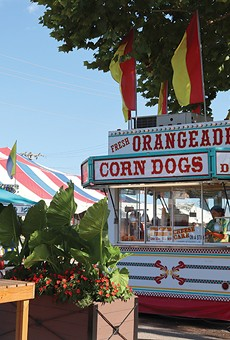 The Missouri State Fair offers fine fried food dining.