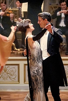Lady Mary and Henry Talbot (Michelle Dockery and Matthew Goode) dance as only the comfortable can.