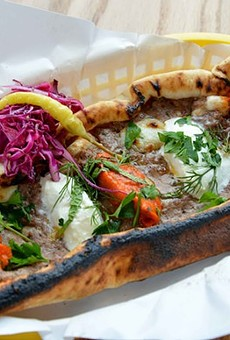 Pide from Balkan Treat Box.