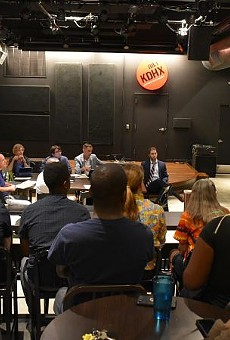 KDHX's September 16 meeting of the board of directors included an open forum to address recent allegations of racial insensitivity and mismanagement by top leadership.