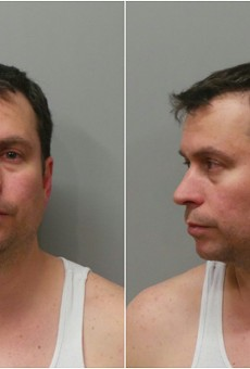 White-collar, and occasionally no-collar, criminal Bryan Vonderahe, shown following a 2016 DWI arrest.
