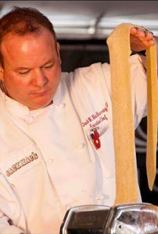 Chef Jack W. MacMurray III at WFC Show Me Series Competition