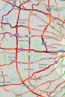Record-Setting Snowfall Made St. Louis Traffic a Clusterfudge of Epic Proportions