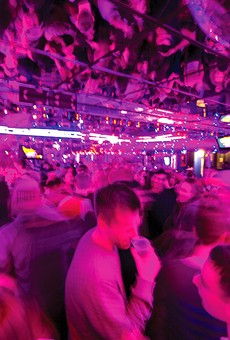 The mirrored ceiling at Mike Talayna's Juke Box lets you see twice as many bad decisions happening.