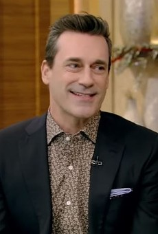 Jon Hamm, St. Louis boy made good, knows how to lean into his accent.