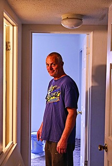 Bobby Giammanco and Lisa Jones, who live in the Southwest Crossings, did their own repairs after maintenance workers quit over unpaid labor.