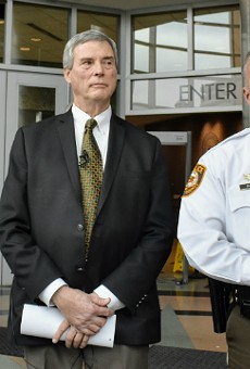 St. Louis County police Chief Jon Belmar plans to retired on April 30.