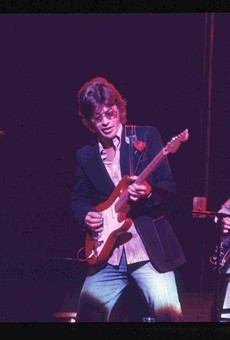 Robbie Robertson in his younger days.