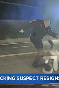 Ex-Woodson Terrace cop David Maas was recorded kicking a suspect in a video first aired by KMOV.