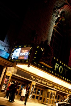 The Fox Theatre has cancelled everything on its calendar through March 31.