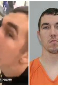 Cody Pfister filmed himself licking items at Walmart, authorities say.
