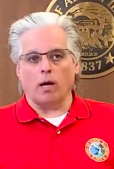 Alton Mayor Brant Walker recorded a message on Friday, urging people to stay home.