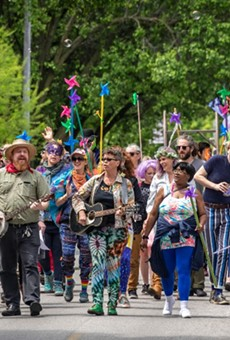 The People's Joy Parade is always a highlight of the annual street festival.