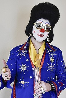 Clownvis Presley Is Getting Us Through Lockdown With a Nightly Live Broadcast