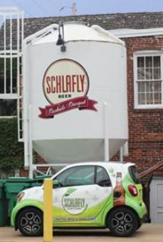 Schlafly Bankside opened May 22.