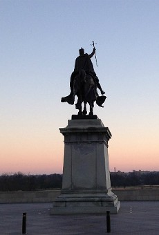 The worst of St. Louis monuments to bad men may be the Art Hill bronze of the city's namesake.