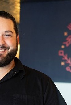 Brandon Summit of Yolklore provides hospitality to his guests  in even the quickest of interactions.