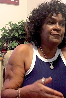 Beverly Jones's heart is with her neighborhood — even when she can't be there.