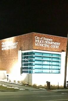 Ferguson Police Station.