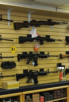 Gun sales has risen during the pandemic.