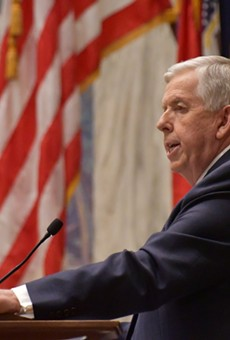 Missouri Gov. Mike Parson delivered his State of the State address on Jan. 27, 2021
