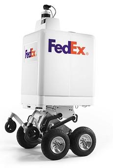 Roxo, the FedEx On Demand Bot.