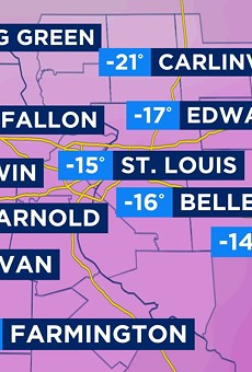 St. Louis Weather Forecast Says Snow, Possible Record-Cold Lows This Weekend