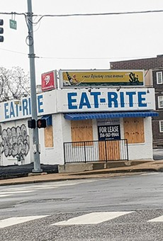 The Eat-Rite Diner, photographed downtown March 17, could be looking much spiffier later this spring.