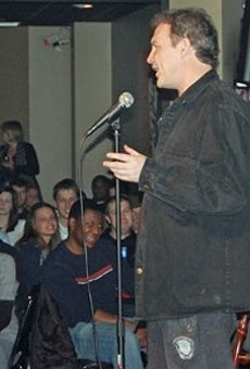 Norm MacDonald performs for a packed house at the Funny Bone back in 2010.