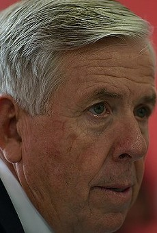 Missouri Governor Mike Parson.