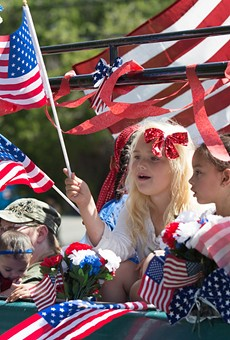 For amber waves of grain (and more than a little red, white and blue) head to the America's Birthday Parade this year.