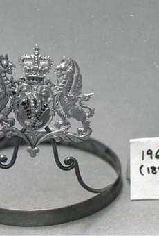"A Veiled Prophet ""Queen's Crown,"" dated to 1896, is still missing — but the Veiled Prophet is still around."