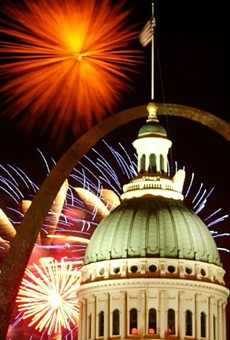 Fireworks are back in St. Louis.