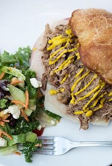 We'll miss the Cuban sandwich at J. Greene's Pub.