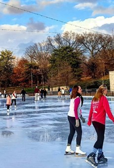 Steinberg Skating Rink in Forest Park Is Open for Roller Skating This Summer